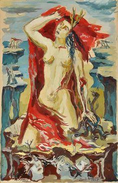 Boceto de Liberación : Raquel Forner
