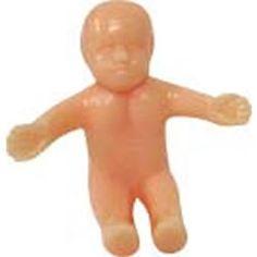 mardi gras plastic baby.