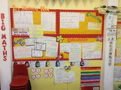 There are four key areas to the Big maths scheme, counting, calculation, learn it's and it's nothing new. These cover what the children's previous knowledge is, what is new knowledge that they are learning, and two key elements in calculation and counting practice. Classroom Displays, Maths, Mathematics, Counting, Knowledge, Bullet Journal, Layout, Key, Learning