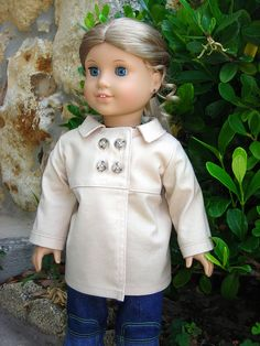 Elizabeth in Heritage Pea Coat