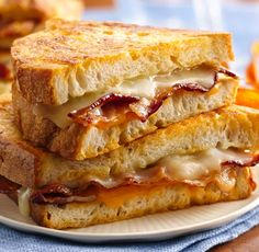 Use Wisconsin Cheese for this Beer Battered Grilled Cheese Sandwich recipe! Yum.