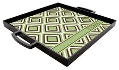 Monogrammed acrylic serving tray - @Frankie Krueger I love mine :)