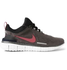 Nike Nike Free OG 2014 Microsuede and Tech-Jersey Sneakers   MR PORTER