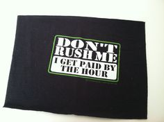 T Shirt Logo  I Get Paid by the Hour by IdleHandsYarnSupply, $1.25