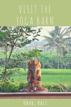Yoga in Bali: Ubud's Yoga Barn is the perfect destination! Travel in Indonesia