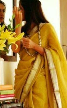 yellow Kanjivaram