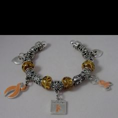 MS awareness bracelet....cute and I may have to get one!