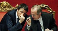 Stai sereno Renzi, ci pensa Padoan..