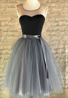 Homecoming chiffon prom dress