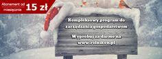 System do zarządzania gospodarstwem rolnym www.rolnikon.pl