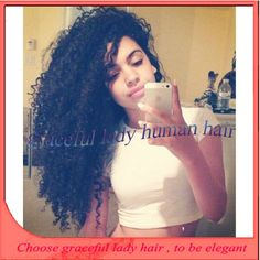 "Find More Wigs Information about African american human hair wigs lace front wig human hair/glueless full lace wigs brazilian virgin hair 150% 12 26"" #1b color,High Quality Wigs from Graceful lady human hair store  on Aliexpress.com"