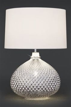 Buy chrome glamour small 2 light table lamp from the next uk online buy glamour 2 light table lamp from the next uk online shop aloadofball Images