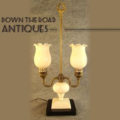 Jefferson Double Arm Student Lamp - 1920's