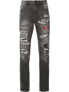 Haculla patches ripped jeans