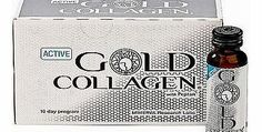 Gold Active Gold Collagen 10 Day Programme Food 140 Advantage card points. Active Gold Collagen is based on a formula specifically developed to offer a unique combination of collagen and supplements for good absorption and bioavailability. Always r http://www.comparestoreprices.co.uk/vitamins-and-supplements/gold-active-gold-collagen-10-day-programme-food.asp