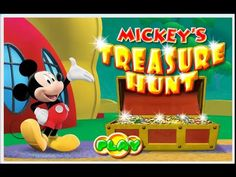 Mickey Mouse Clubhouse Episode - Mickey's Treasure Hunt - Disney's Mickey Mouse Game