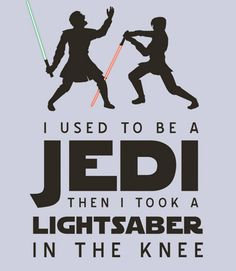 Ha we always said we did Jedi mind tricks when I was in PsyOp in the army! Then I broke my leg at the knee!