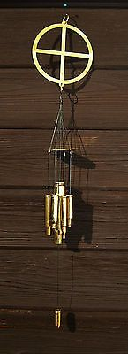 Wind Chimes Brass Shell Casings--but with cooler top
