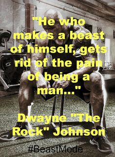 Dwayne Johnson better known as the Rock is not only a beast, but a damned good person. #BeastMode #Inspiration