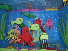Fish craft idea for kids   funnycrafts
