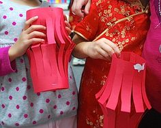 Chinese New Year Lantern Art Project- Kid World Citizen