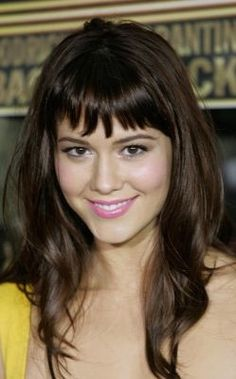 short bangs hairstyles with long hair - Google Search