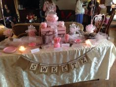 Candy Buffet I did for Sandy James - March 2014 Baby Shower Candy, March 2014, Candy Buffet, Buffets, Gift Ideas, Cake, Desserts, Gifts, Food