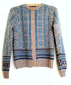 pattern 'Norwegian Jacket' from Drops garnstudio and can be accessed on Ravelry.com
