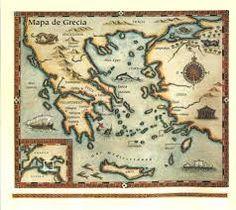 Resultado de imagen de mapa de grecia antigua