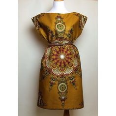 African+Print+Dress++The+Vilya+Dress+by+CHENBURKETTNY+on+Etsy,+$109.00
