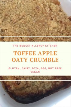 What better on a cold, miserable day than a warming, cosy meal followed by an even cosier, warming dessert? This crumble is absolutely the perfect dessert to warm you from the inside out.  Wit…