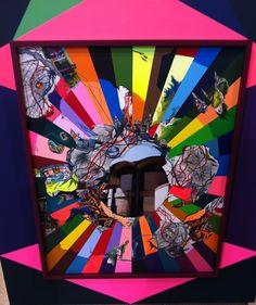 Franz Ackermann, Market Target II, 2013, mixed media. Gallery Meyer Riegger #franzackermann #art