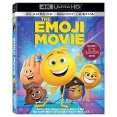 """Discover the secret world inside your phone where all the emojis live. Three emoji friends go on an epic """"app-venture"""" to save Textopolis! Streaming Movies, Hd Movies, Movies To Watch, Movies Online, Movie Tv, Hd Streaming, Disney Movies, Cloud Movies, Alle Emojis"""