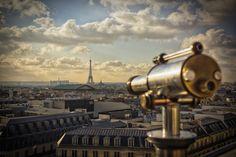 Heading to Eiffel Tower