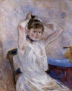 "Berthe Morisot (1841-1895), ""The Bath"""