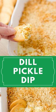 Whether you are a pickle lover or not, you will swoon over this easy dill pickle dip recipe! This dip is creamy, tangy, and addicting! This is one of those dip recipes that is sure to disappear quickly!