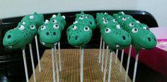 Alligator Cakepops By love fun cakes