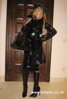 Raincoats For Women Shops Product Girls Raincoat, Black Raincoat, Vinyl Raincoat, Vinyl Clothing, Latex Dress, Leather, Boots, Vinyls, Heels