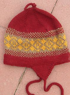 This hat begins with an I-cord and can be adapted up or down in size depending on your yarn weight and needle, as well as the number of stitches in your I-cord. It is knitted top down. I Cord, Baby Knitting, Ravelry, Stitches, Winter Hats, Number, Pattern, Tops, Fashion