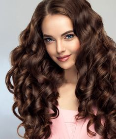 Classy Long Curly Hairstyles for Women You Must Consider Right Now Easy Hairstyles For Long Hair, Long Curly Hair, Popular Hairstyles, Curly Hairstyles, New Hair, Classy, Romantic, Hair Styles, Beauty