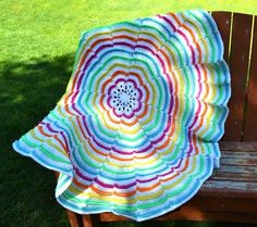 This crochet pattern is for a fun and textured throw that is perfect for…