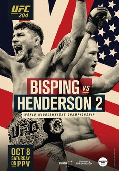 UFC 204: Bisping vs. Henderson II (2016-10-08)