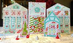 Imaginisce Blog: Santa's Village Advent Calendar