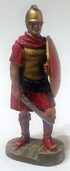 "Guardia erodiana, 40 a.C. circa, numero 80 di ""Roma e i suoi nemici"" (2011 Vadis) #Miniatures #Figures #AncientRome #OspreyPublishing"