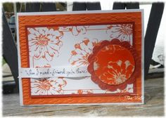 Stamp & Scrap with Frenchie: Choose Happiness Embossed Card