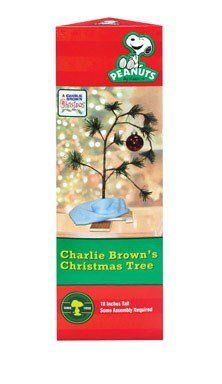 Charlie Brown Christmas Tree with Blanket 24″ Tall (Non-Musical)