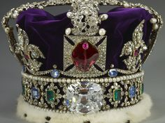 2,868 diamonds, 273 pearls, 17 sapphires, 11 emeralds, and 5 rubies - Guess which Crown?