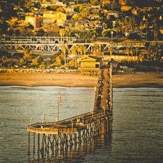 Oh baby, the places you'll go! ~ Ventura Pier photo by local artist Broc Ellinger Photography ~ Musings from good ol' Dr Suess Ventura Pier, Ventura Beach, Ventura California, Ventura County, California Living, Ventura Homes, Bad Storms, Local Photographers, Water Waves