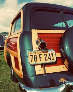 Classic Retro Studebaker Woody - As Seen in Etsy Finds - Classic Car Art for Guys - Surf Inspired Decor - 8X10 Fine Art Photograph., via Etsy.