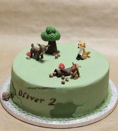 Marsispossu: Metsän eläimet -kakku